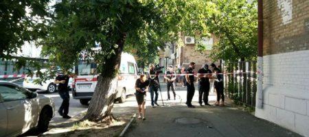 Жестокое ограбление со стрельбой в Киеве (ВИДЕО)