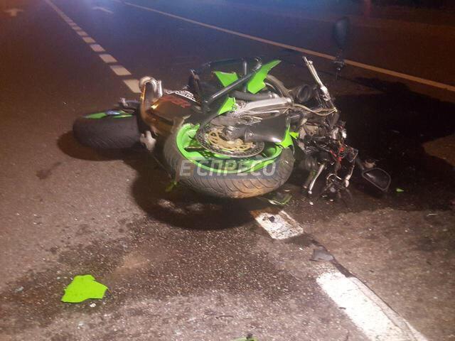 Жахлива нічна аварія в Києві - автомобіліст насмерть збив водія мотоцикла (ФОТО)