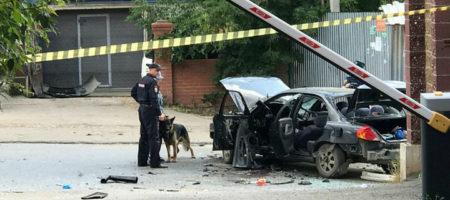 Теракт в Уфе! Возле торгового центра подорвали автомобиль (ВИДЕО)