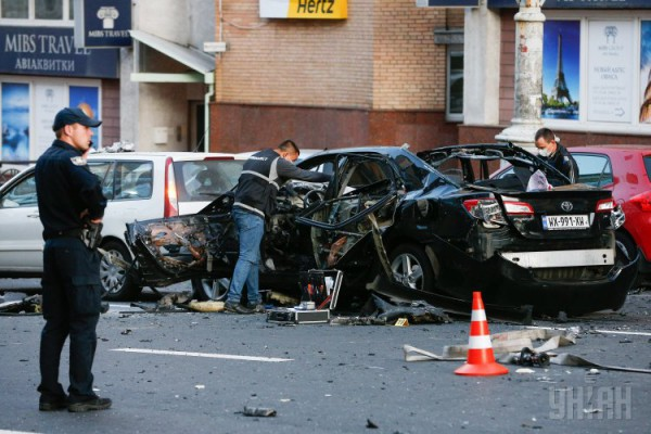 Подрыв автомобиля в Киеве: врач рассказал СМИ важную информацию о пострадавшей