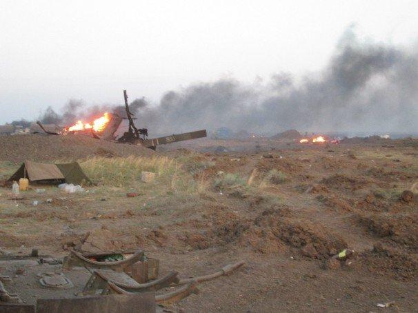 Боевики в регулярных атаках на позиции АТО понесли не малые потери: 11 убитых, 19 раненных (ВИДЕО)