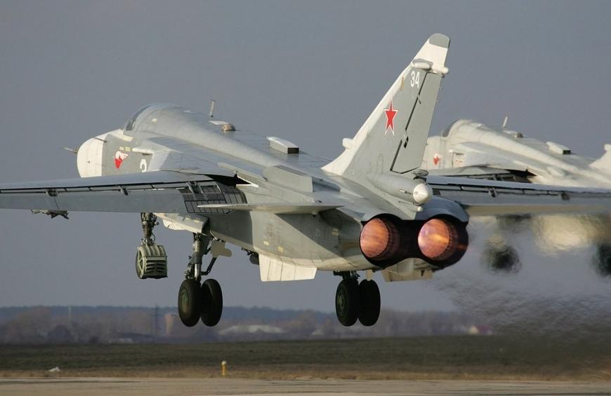В Сирии разбился российский бомбардировщик СУ-24 - экипаж погиб-dp_su-24m2_01_1000