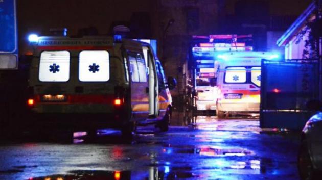 Автобус сборной Украины попала в ДТП за границей и перевернулся