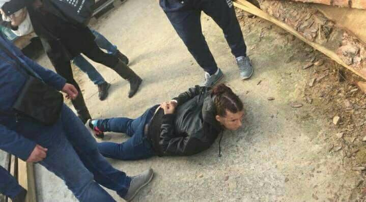 В Киеве полиция поймала похитительницу младенца в районе Оболонь (ФОТО + ВИДЕО)