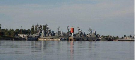 В Калининградской области РФ, неизвестные угнали два военных корабля ВМВ РФ