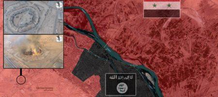 Боевики ИГИЛ с беспилотника подорвали крупнейший склад оружия ВС РФ в Сирии передав привет Шойгу (ВИДЕО)
