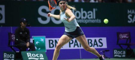 Лучшая украинская теннисистка Свитолина на итоговом турнире обыграла на итоговом турнире года 1 ракетку мира
