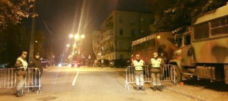 Административный центр Киева полностью перекрыт силовиками: стягивается Нацгвардия (ФОТО)