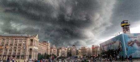 """Центр Києва завмер - """"кінець світу""""! Все встало, люди не розуміють, що трапилось"""