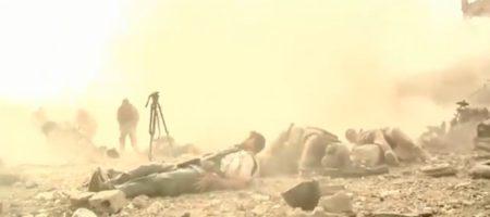 """""""Хватит снимать, б*я, вызывай помощь придурок"""": эксклюзивные кадры подрыва русских вояк с журналистами на фугасе в Сирии (ВИДЕО)"""