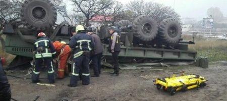 Запорожская трагедия для ВСУ: грузовик с военными перевернулся, есть жертвы