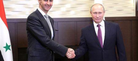 """Путин закрывает все загран """"проекты"""": на встрече с Асадом заявил, что выводит войска с Сирии"""