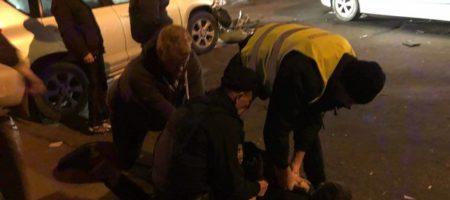 Полиция после ночных гонок задержала малолетнего мажора, который устроил ДТП и сбежал на мамином авто ФОТО