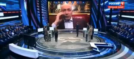 Украинский телеведущий Дмитрий Гордон в прямом єфире поставил на место российский пропагандонистов (ВИДЕО)