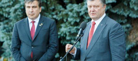 Всплыли детали письма Саакашвили к Порошенку