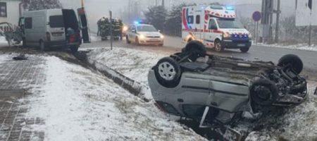 В Словакии в результате ДТП разбился автобус с украинцами (ПЕРВЫЕ ФОТО)