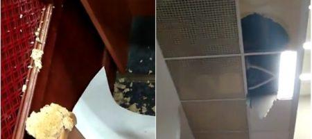 Стало известно причины обвала потолка в здании Киевсовета прямо во время заседания (ФОТО + ВИДЕО)