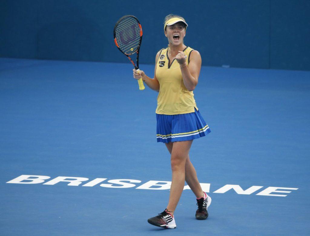 Лучшая украинская теннисистка Свитолина после камбэка пробилась в финал престижного турнира в Австралии