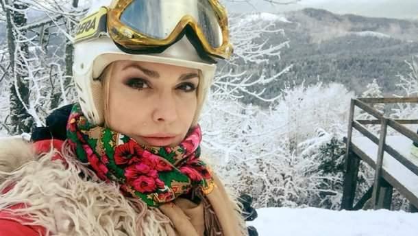 Популярная украинская актриса Ольга Сумская поделилась фото с семейного отдыха