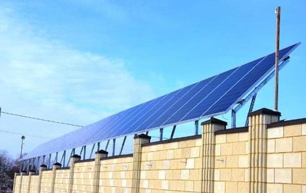 В Днепропетровской области за 11 млн евро, канадцы построили солнечную электростанцию