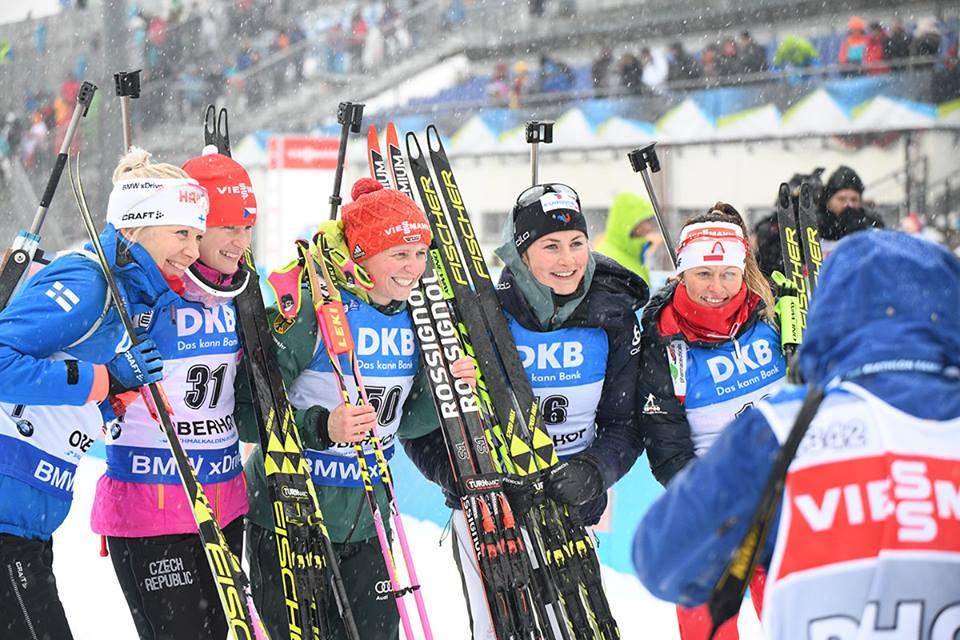 БИАТЛОН: Женский спринт в Оберхофе