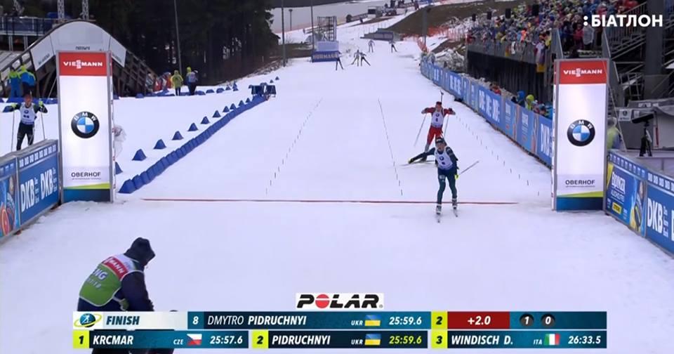 БИАТЛОН: Мужской спринт в Оберхофе 2018