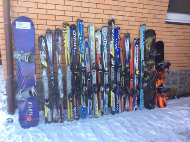 Евростат подал данные, по которым Украина стала главным поставщиком лыж и сноубордов для европейских стран