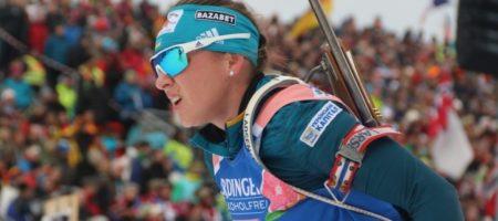 Лучшей спортсменкой Украины в январе признали биатлонистку Варвинец