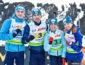 Украина выиграла золото в смешанной эстафете на ЧЕ 2018 в Италии