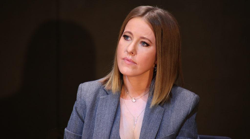 Кандидат в президенты РФ Ксения Собчак рассказала прессе о минировании своей квартиры