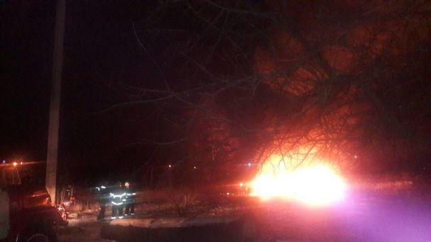 В Кременчуге рухнул вертолет МИ-8, есть жертвы ВИДЕО