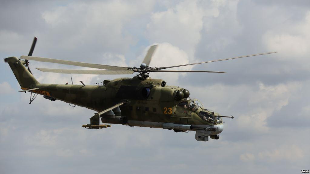 В Сирии упал российский боевой вертолет МИ-24, пилоты погибли