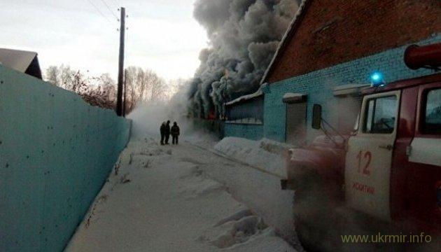 Десять погибших в результате пожара на обувной фабрике в РФ