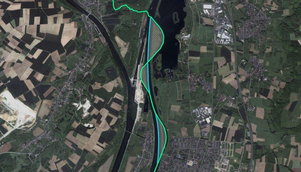 Река вынудила обменяться территориями Бельгию и Нидерланды