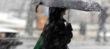 Синоптики ожидают в Украине мокрый снег