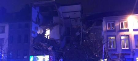 Большое ЧП в Бельгии: взорвался и рухнул жилой дом