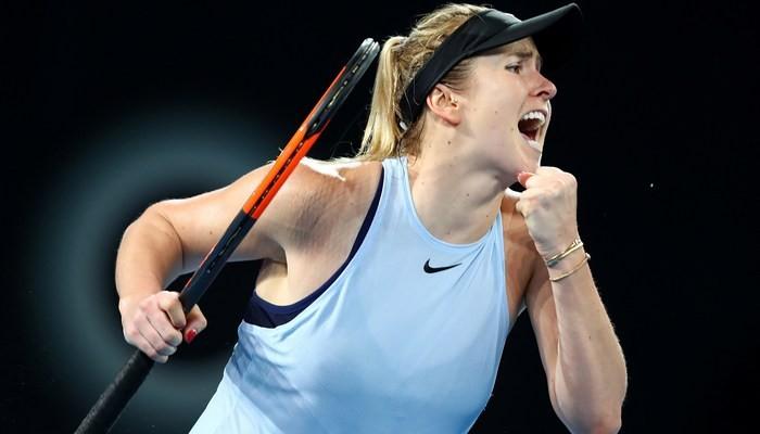 Свитолина уверенно выиграла финал первого большого теннисного турнира года, оформив 10-тый титул в карьере