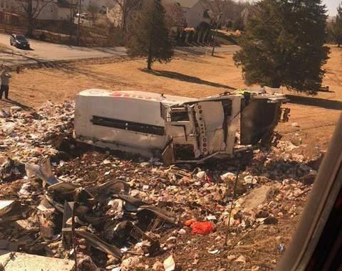 В США поезд с конгрессменами врезался в грузовик