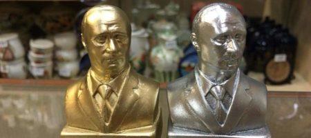 Российская журналистка высмеяла культ Путина и сувениры в виде бюста Путина (ФОТО)