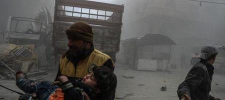 Сирийцы проклинают Путина и Россию! Авиация РФ накрыла Дамаск и Гуту. В последней 505 погибших, из них более 100 - дети (ВИДЕО)