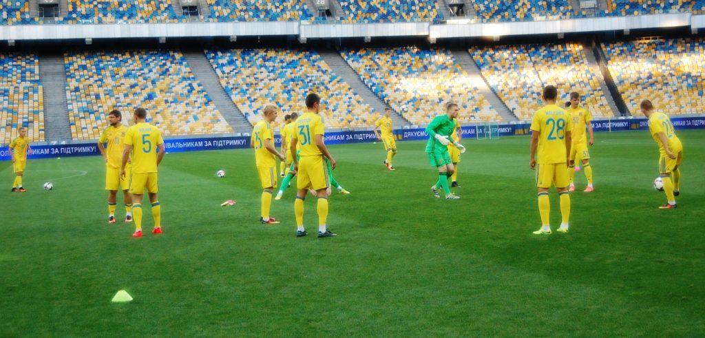 Первый матч в Лиги Наций Украина проведет при пустых трибунах