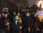 Первые стычки под Администрацией Президента сторонников Саакашвили и правоохранителей (ВИДЕО)