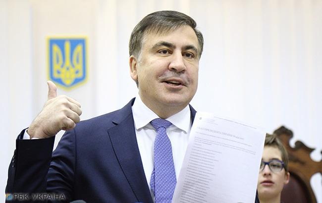 Саакашвили снова задержал спецназ (ВИДЕО)