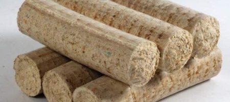 На Николаевщине фермеры начали производить топливные брикеты из соломы