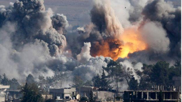 На грани войны: США нанесла мощный удар по войскам Асада и Путина в Сирии