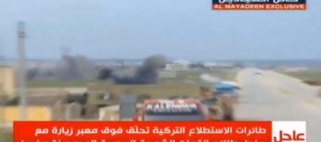 Турция снова на гране войны с Россией: артиллерия турецкой армии накрыла огнем пророссийских наемников под Афринами (ВИДЕО)