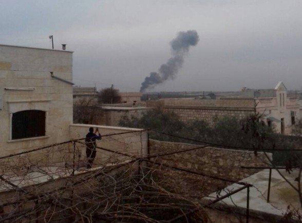 Сирийские повстанцы сбили очередной российский самолет, пилот погиб (ВИДЕО)