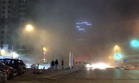В турецкой столице Анкаре прогремел сильный взрыв