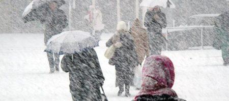Мощный циклон надвигается на Украину
