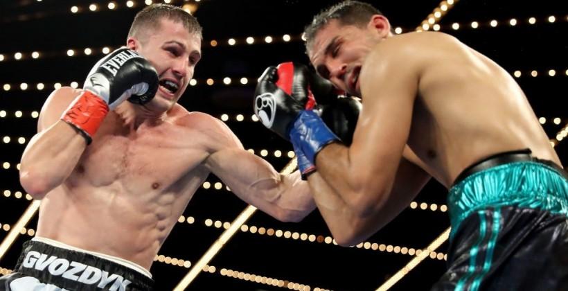 Гвоздик победил Амара и стал временным чемпионом мира